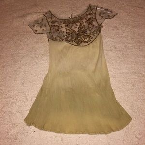 Free People beaded dress, size s